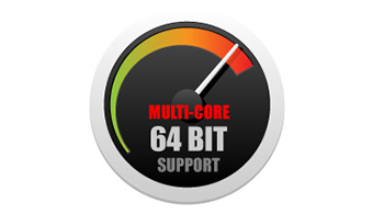 Potente Supporto Multi-Core a 64-bit